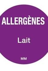 Allergenen etiketten - melk / lactose