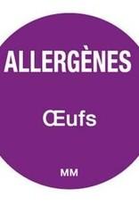 Allergenen etiketten - ei