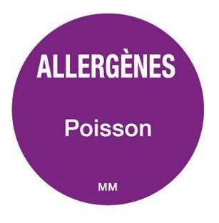 Allergenen etiketten - vis