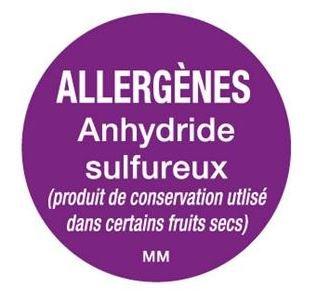 Allergenen etiketten - sulfiet