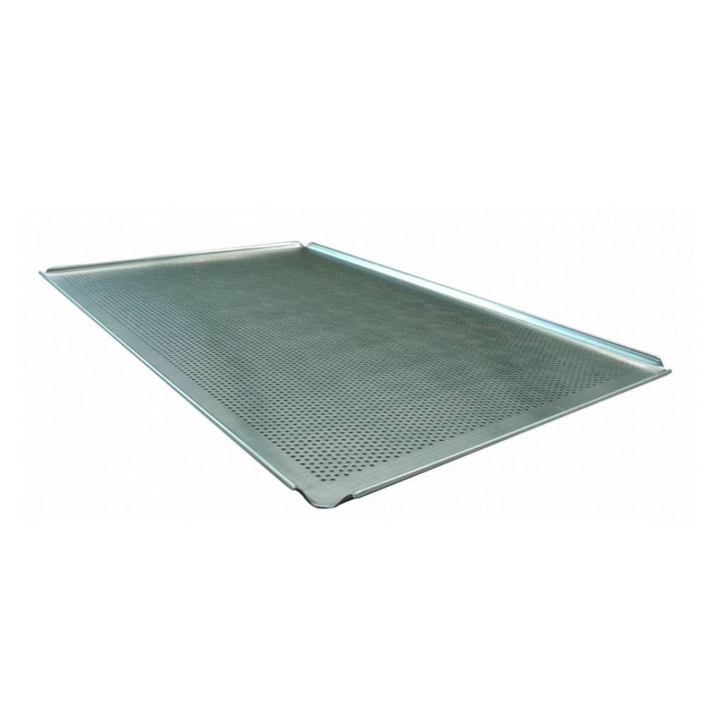 Aluminium bakplaat 60 x 40 (geperforeerd)