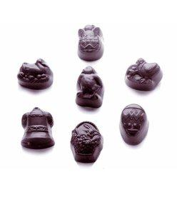 Kunststof bonbonvorm, paas thema