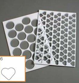 Schneider Kunststof stekervorm hart, 95 vormen (mat)
