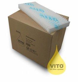 Doos met 100 filters voor Vito 50 en Vito 80 apparaat