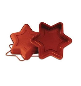 Silicone taartpan small star