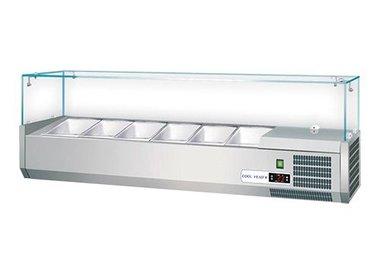 Koelingen, Saladettes en Ijsblokjes machines