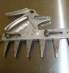 Occasion patentschaar 7-tands (26 cm)