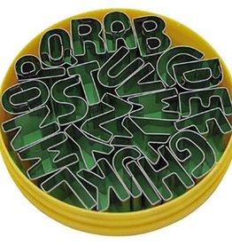 Stekerset Alfabet 26 delig 20 mm