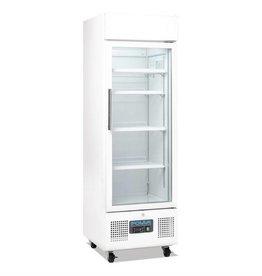 Polar Polar display koeling 218 liter, met wielen