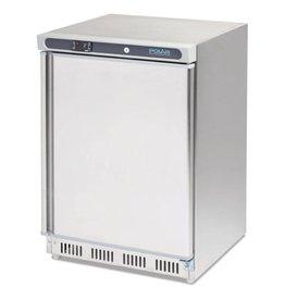 Polar Polar tafelmodel koeling 150 liter, RVS