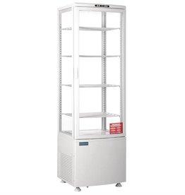 Polar Polar gekoelde vitrine, wit, 235 liter