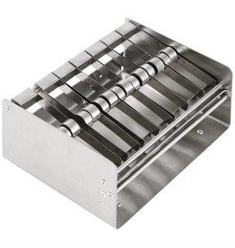 Meervoudige RVS dispenser voor dagstickers 2,5 cm