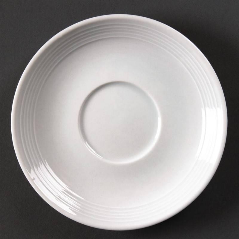 Olympia Whiteware schotel voor stapelbare kop