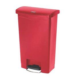 Rubbermaid afvalbak kunststof, 90 liter