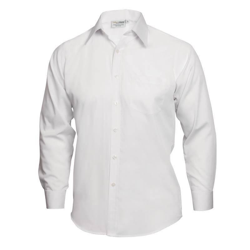 UniformWorks overhemd Unisex, wit