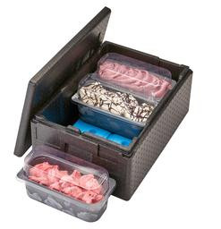 Thermobox Cam Gobox 41 liter voor ijsbakken, 20,5 cm diep