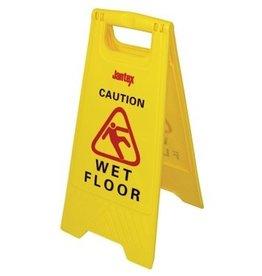 "Signaalbord ""Caution wet floor"""