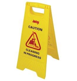 "Signaalbord ""Caution Cleaning in Progress"""