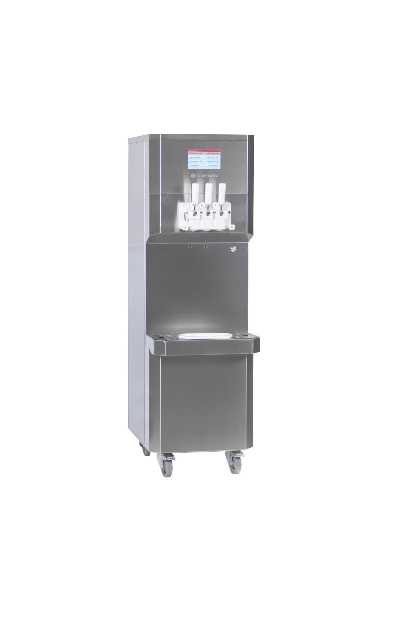 Ijsmachine  voor 2 smaken ijs en mix