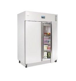 Polar Polar dubbele koelkast 1300 liter, RVS, 20 x 2/1GN