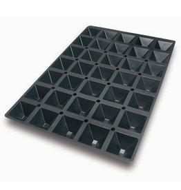 Silikomart Siliconen bakmat - Piramide