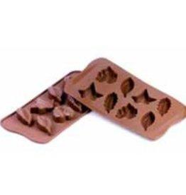 Schneider Chocoladevormen Bladeren