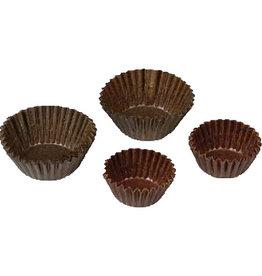 Schneider Cupcake kuipje bruin, 25