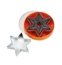 Schneider Stekerset stervorm, glad