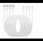 4x Originele iPhone oplader kabel 1m