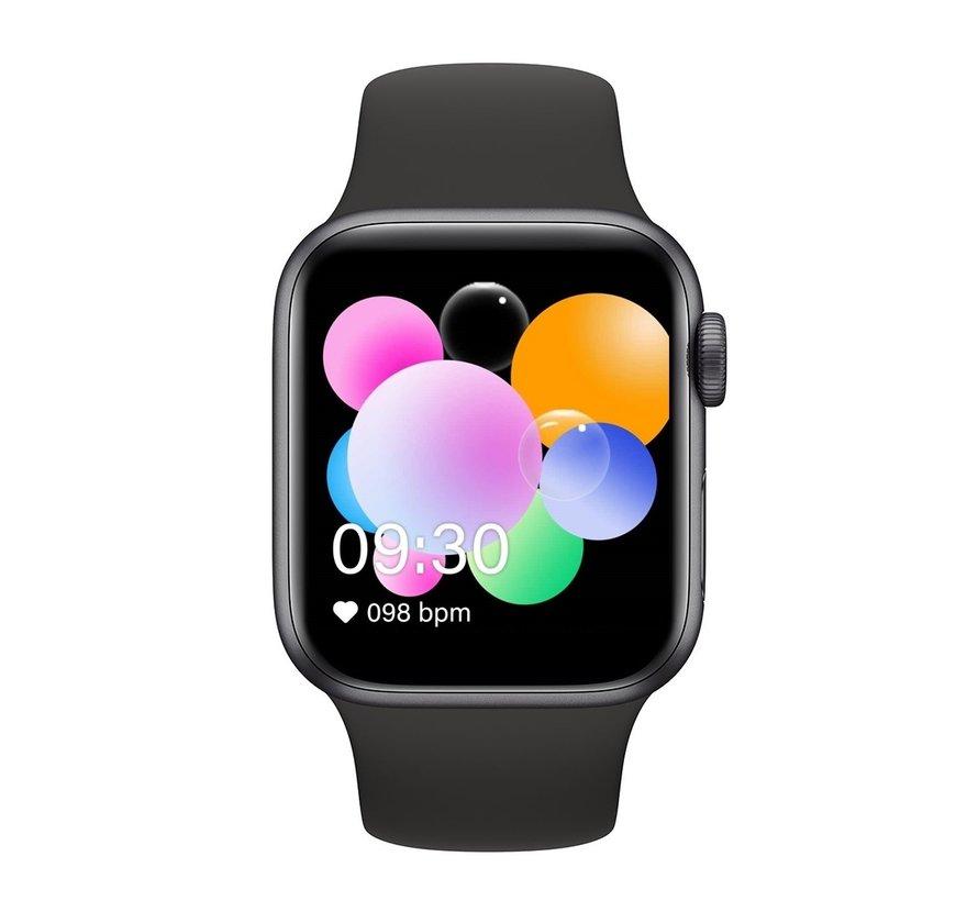 Smartwatch sporthorloge zwart