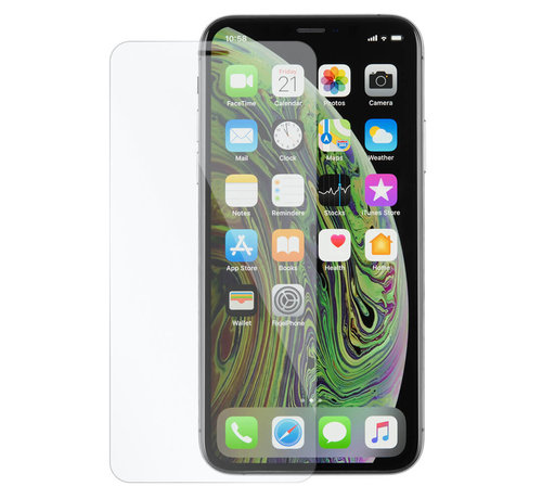 Happyladers.nl iPhone XS Screen protector Tempered Glass