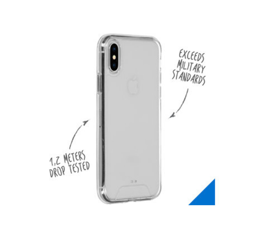 iPhone XS Hoesje Transparant