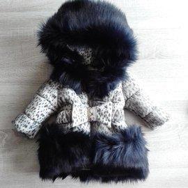 Fur Collar Jacket Girls