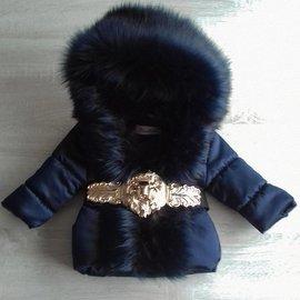 Winterjas Special Edition Luxury Faux Fur Leo DB