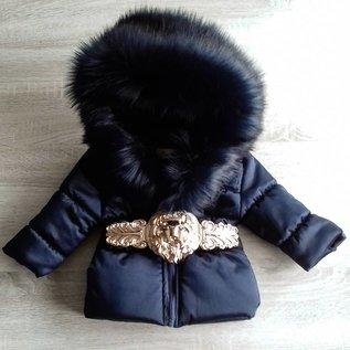 DAMES Winterjas Special Edition Luxury Faux Fur Leo DB