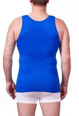 Figuurcorrigerend Hemd MILAN - Blauw