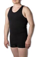 Figuurcorrigerend Hemd MILAN -Zwart