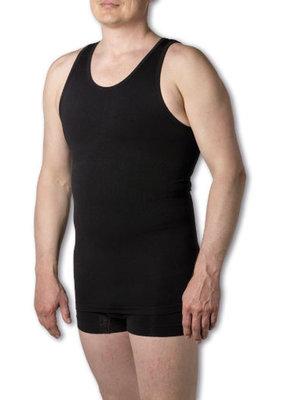 Figuurcorrigerend Hemd - Milan - Zwart