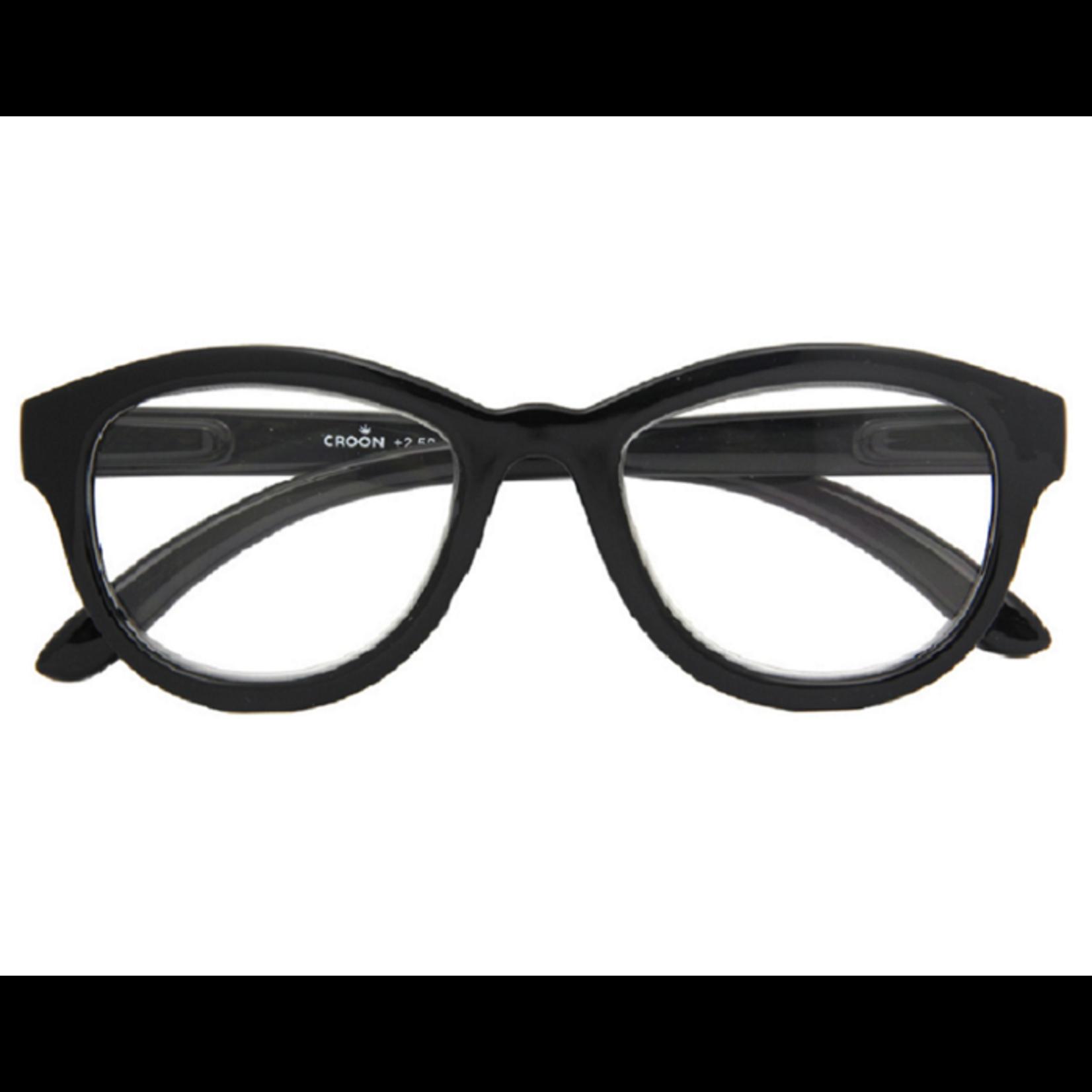 Croon Madonna Shiny Black leesbril