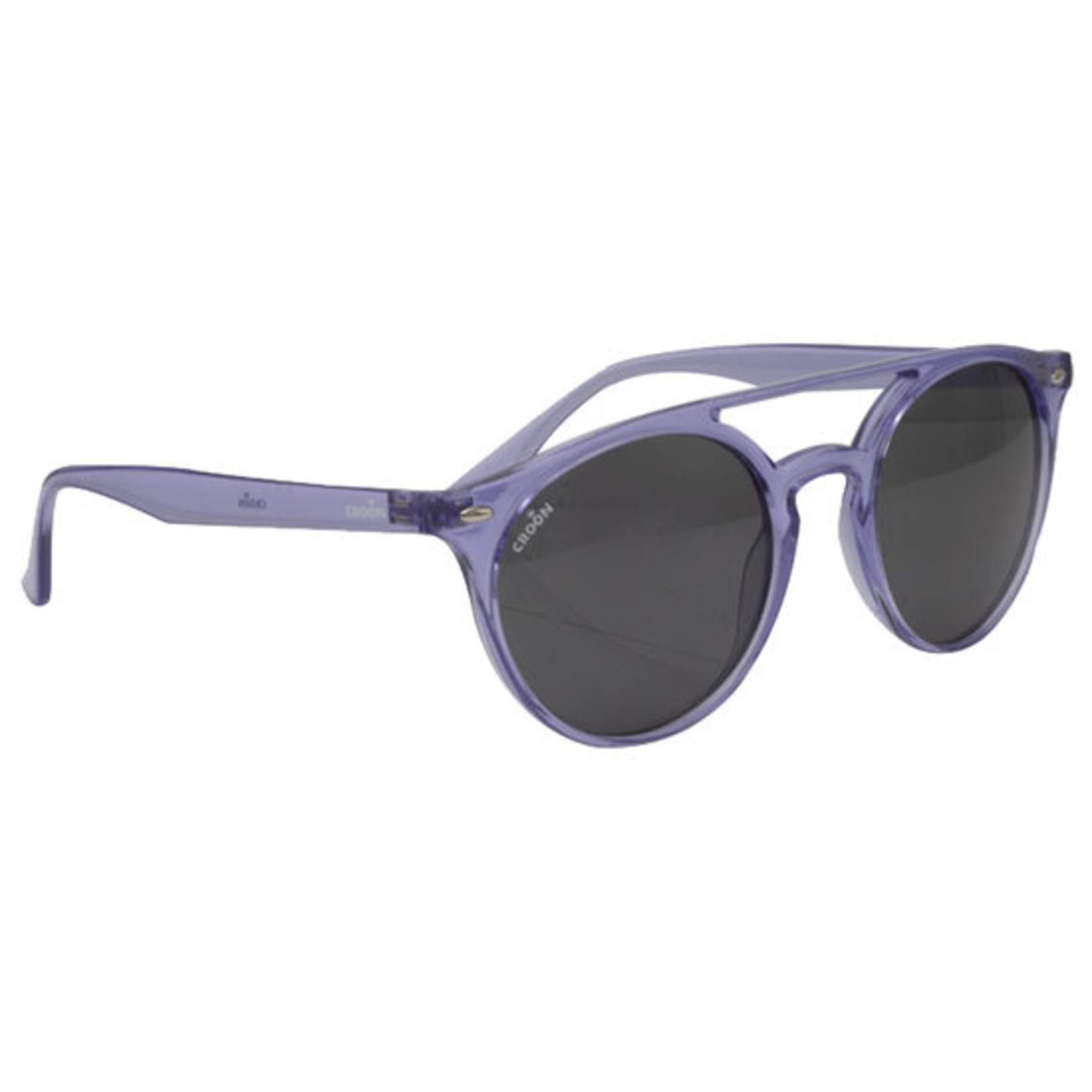 Croon Bobby Purple Clear zonnebril