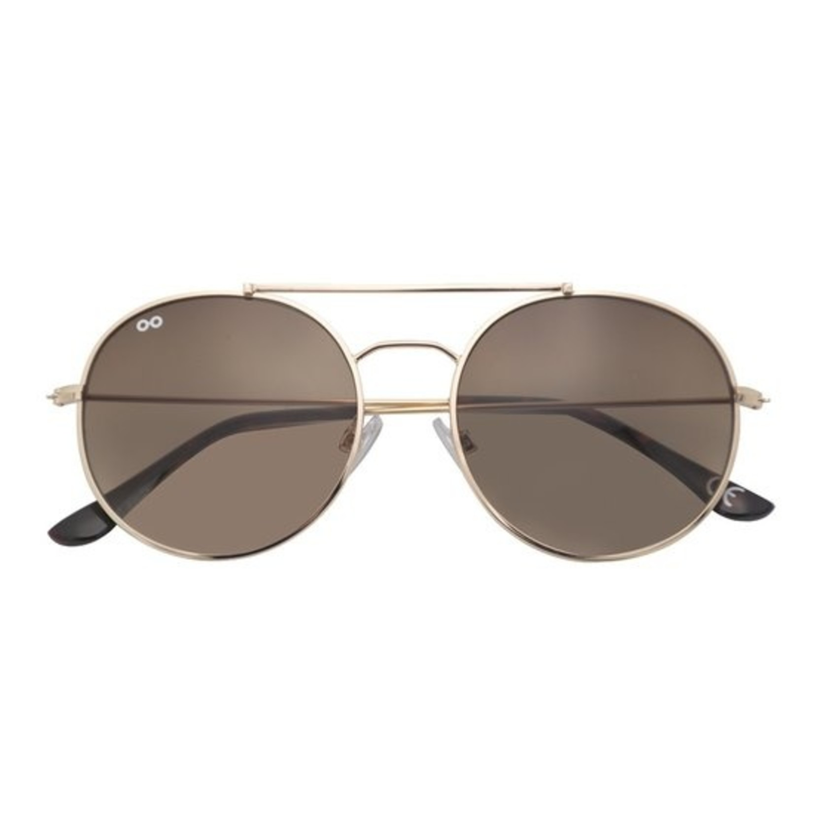 Croon Ozzy Gold Brown zonnebril