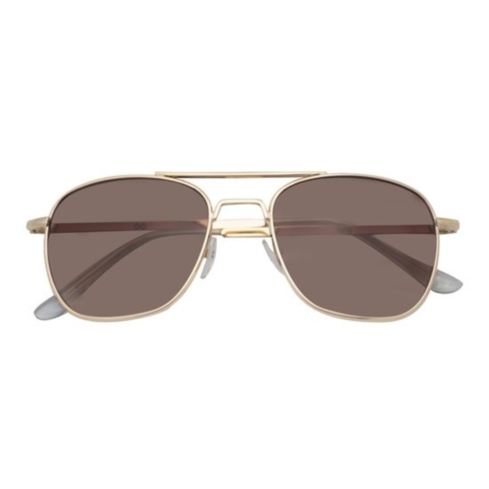 Croon Sting Satin Gold/Brown zonnebril