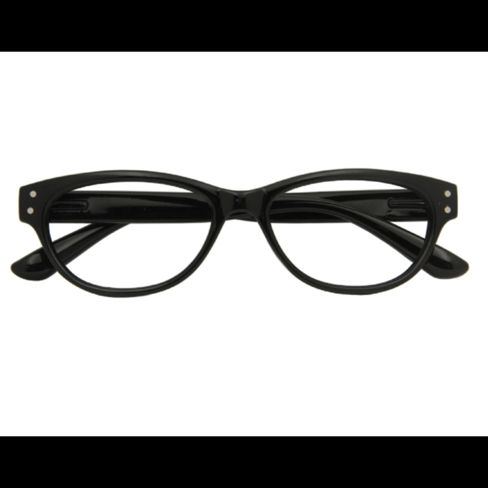 Croon Classic Shiny Black leesbril