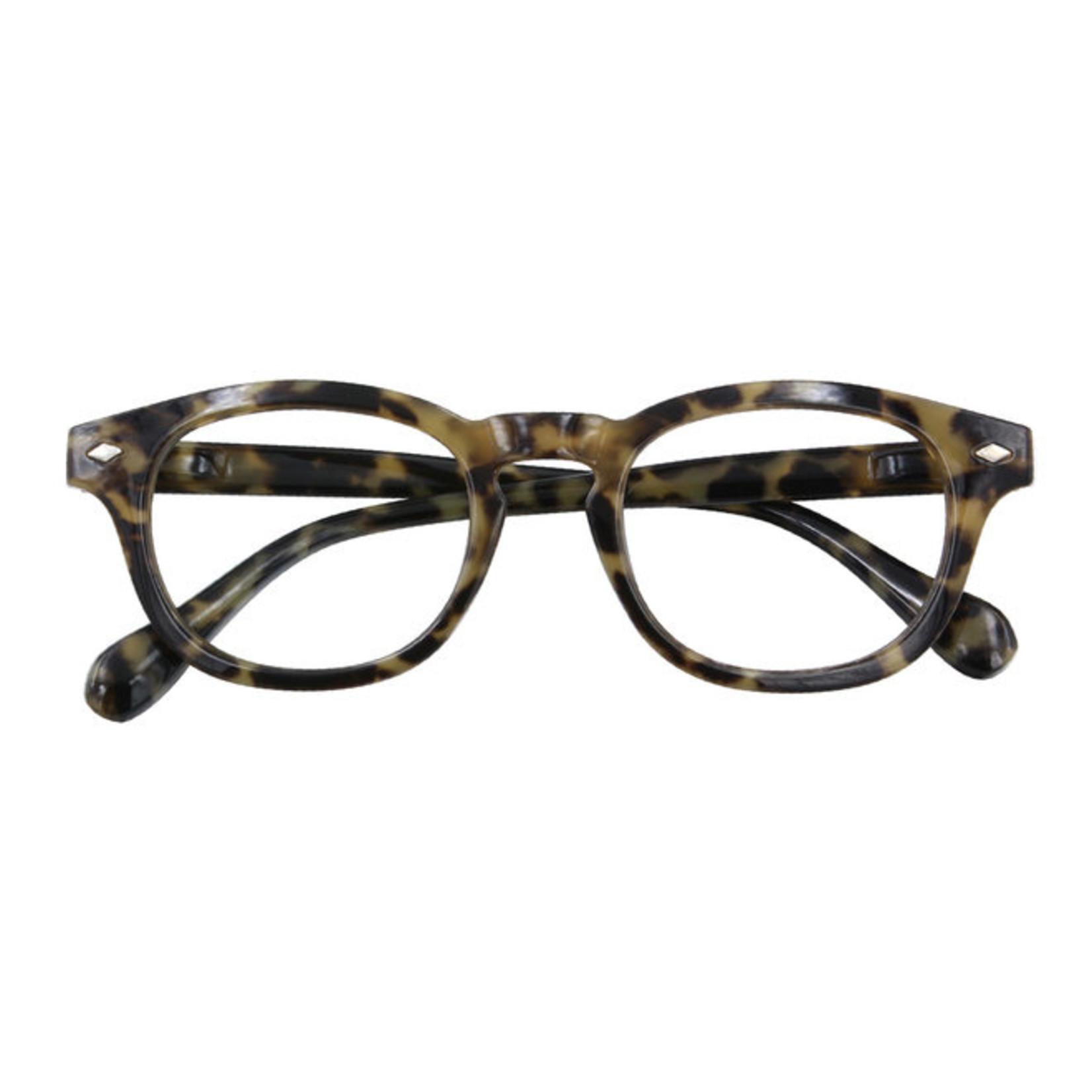 Croon Bowie Havanna Green leesbril