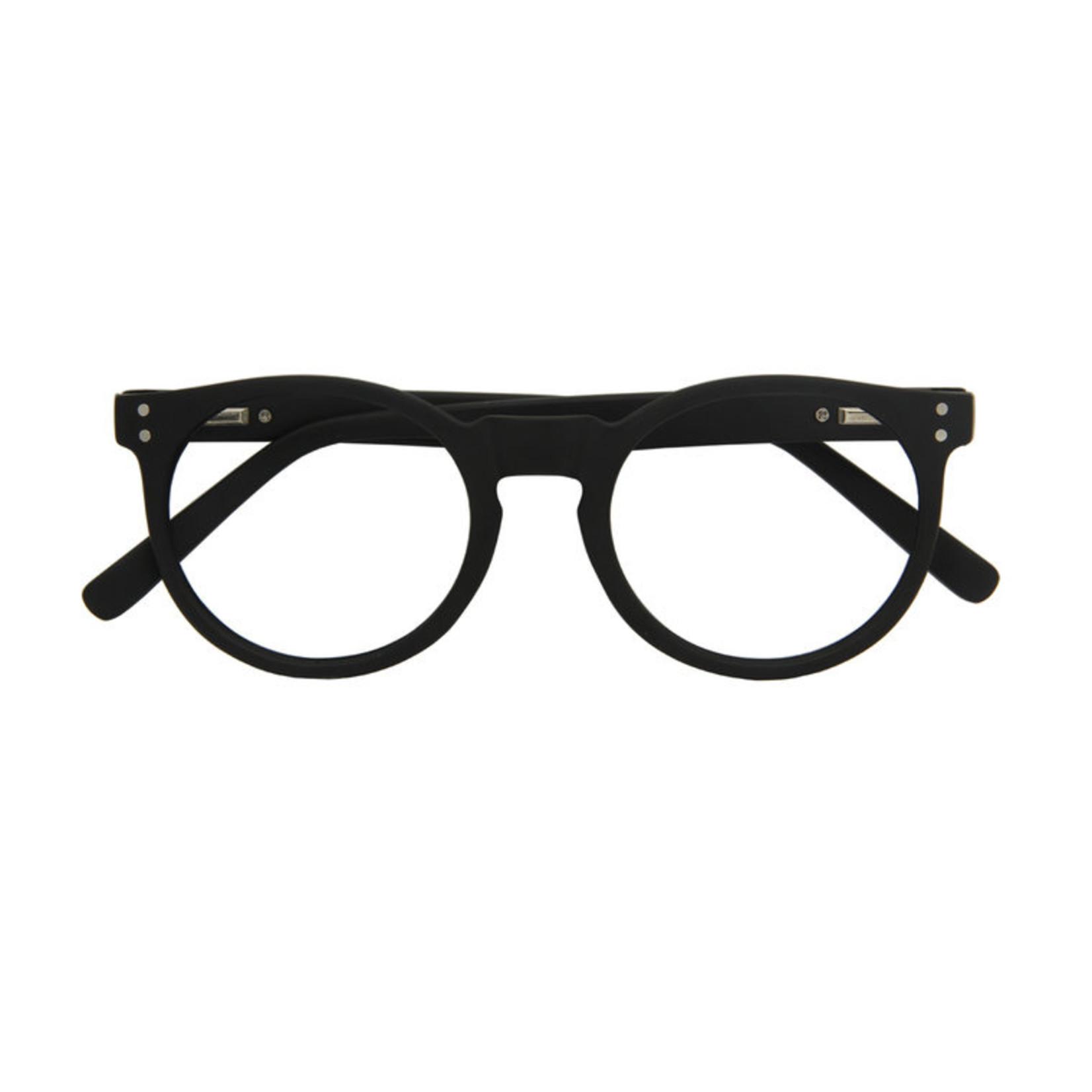 Croon Kensington Matt Black leesbril