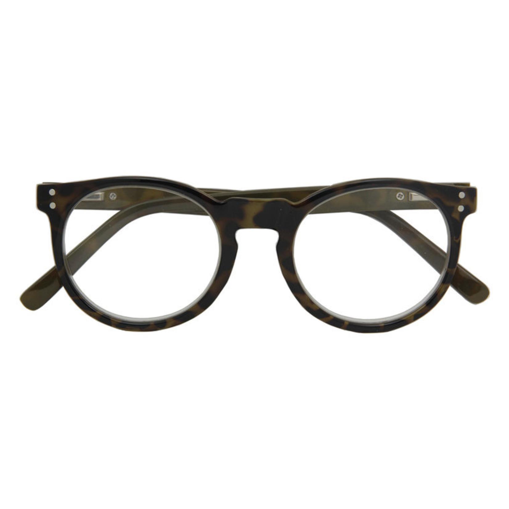 Croon Kensington Havanna Green leesbril