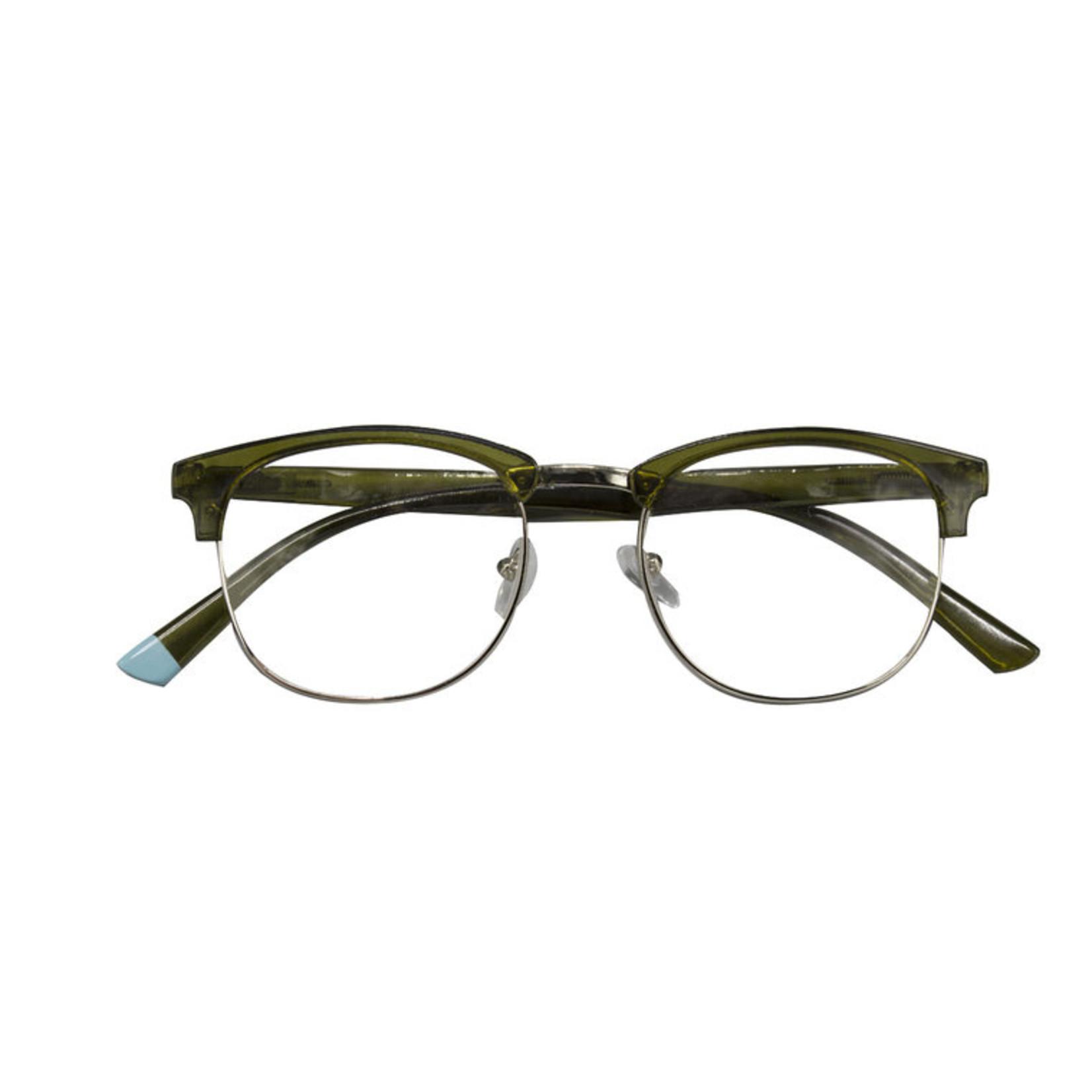 Croon Berlin Army Green leesbril