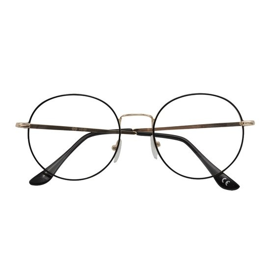Croon Ringo Satin Gold Black leesbril