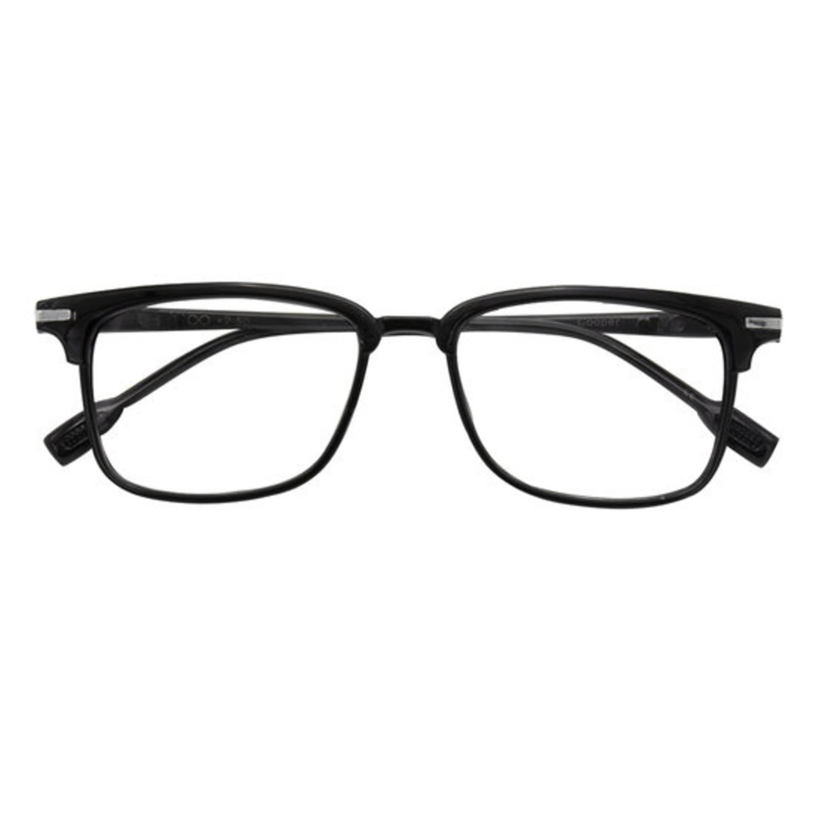 Croon Cooper Shiny zwart leesbril