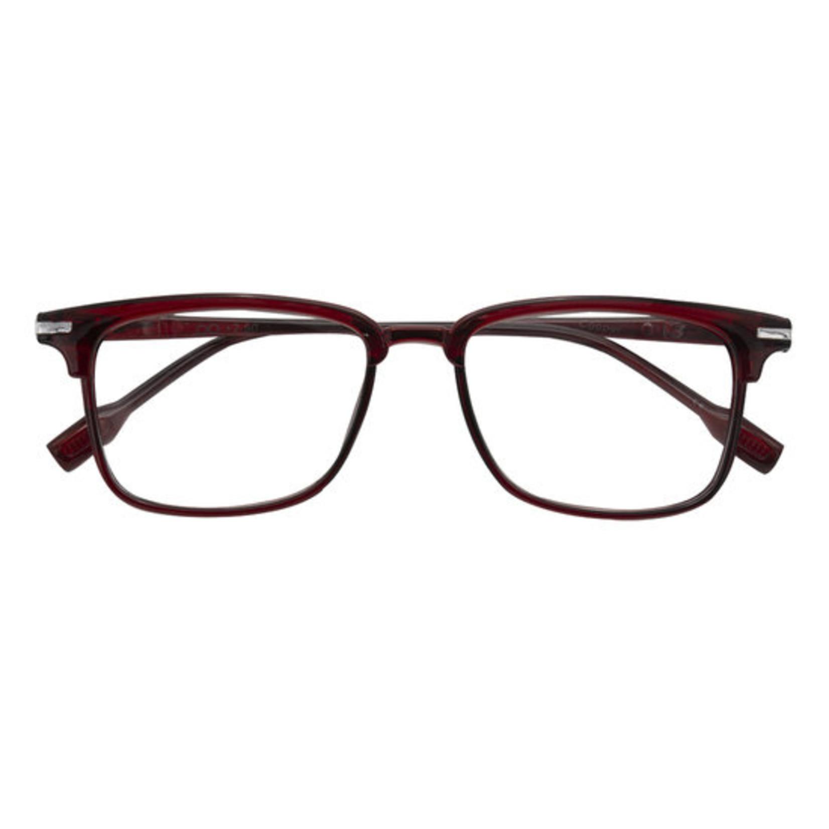 Croon Cooper Rood leesbril